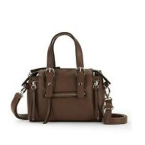MWT Mini brown crossbody satchel